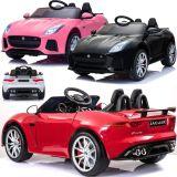 Elektrisches Kinder Elektroauto Jaguar F-Type Special Ed. EVA + Leder