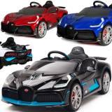Bugatti Divo: Elektrisches Kinderauto EVA Ledersitz 2x45W Lackiert