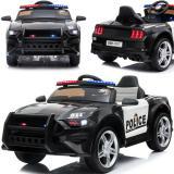 Elektrisches Kinderauto 12V EVA Ledersitz Polizeiauto GT