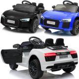 Audi R8 Spyder Elektrisches Kinderauto mit Ledersitz und EVA