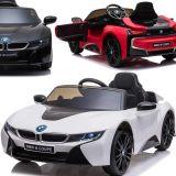 BMW i8 Coupe Elektrisches Kinderauto mit Ledersitz und EVA-Reifen