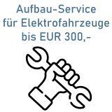 Serviceleistung-Aufbau für Fahrzeuge bis EUR 300,- Warenwert
